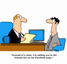 adding your boss on facebook