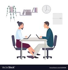 flirting on the workfloor