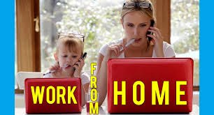 mothers who work from home