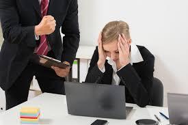 an abusive boss?