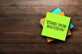 hold regular reviews
