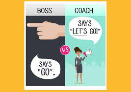 boss should coach