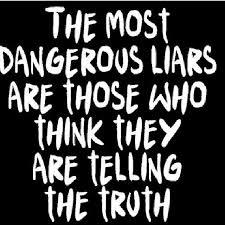always lying