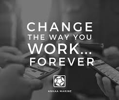 change way of work