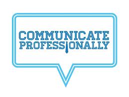 talk professionally