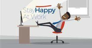 stay happy at work