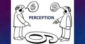 own perception